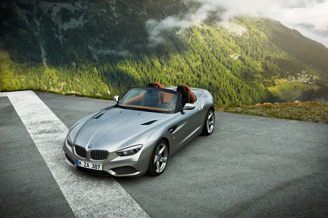 Bmw Zagato Roadster 2012 Cartype
