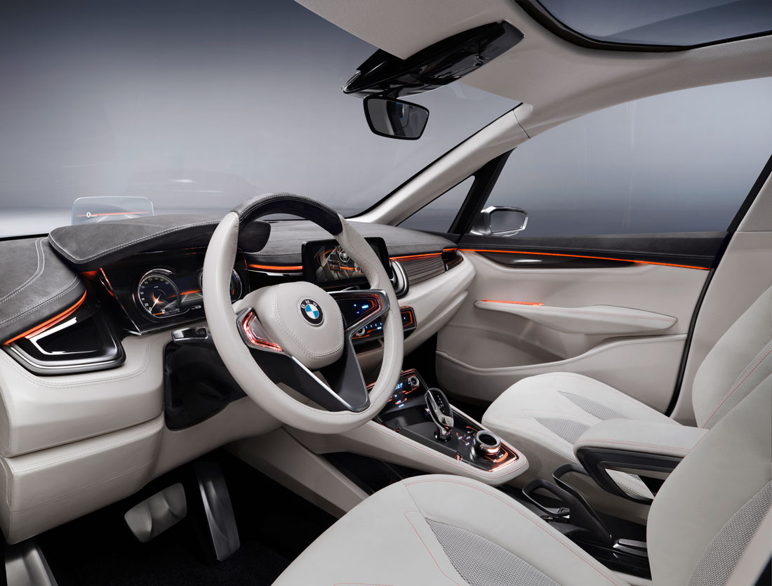 bmw concept active tourer 2012 cartype. Black Bedroom Furniture Sets. Home Design Ideas