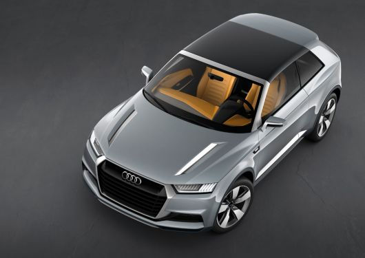audi crosslane coupe 12 07