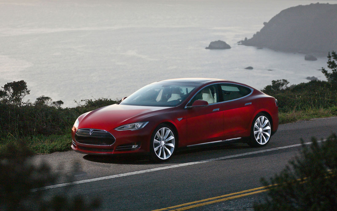 Tesla Model S 2013 Cartype
