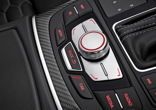 audi rs7 sportback in controls 14