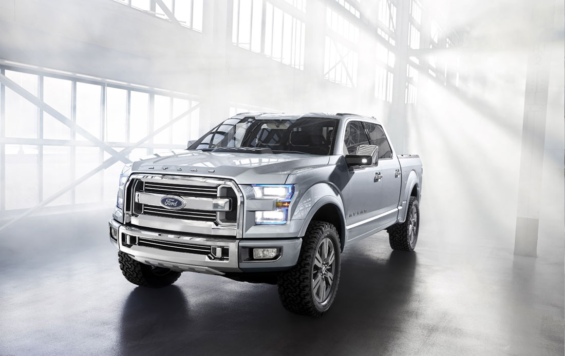 Ford Atlas : 2013 | Cartype