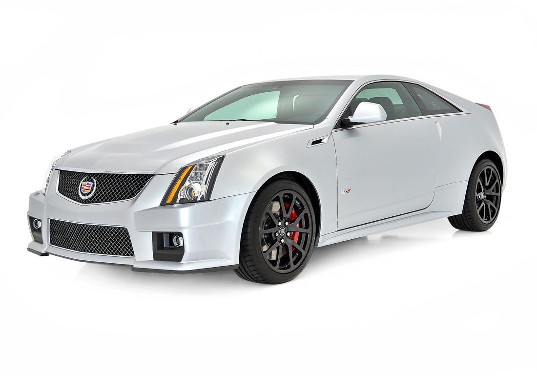 Cadillac cts v coupe silver frost 3 13