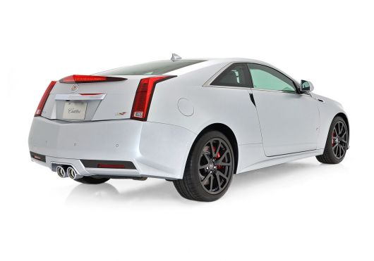 cadillac cts v coupe silver frost 2 13