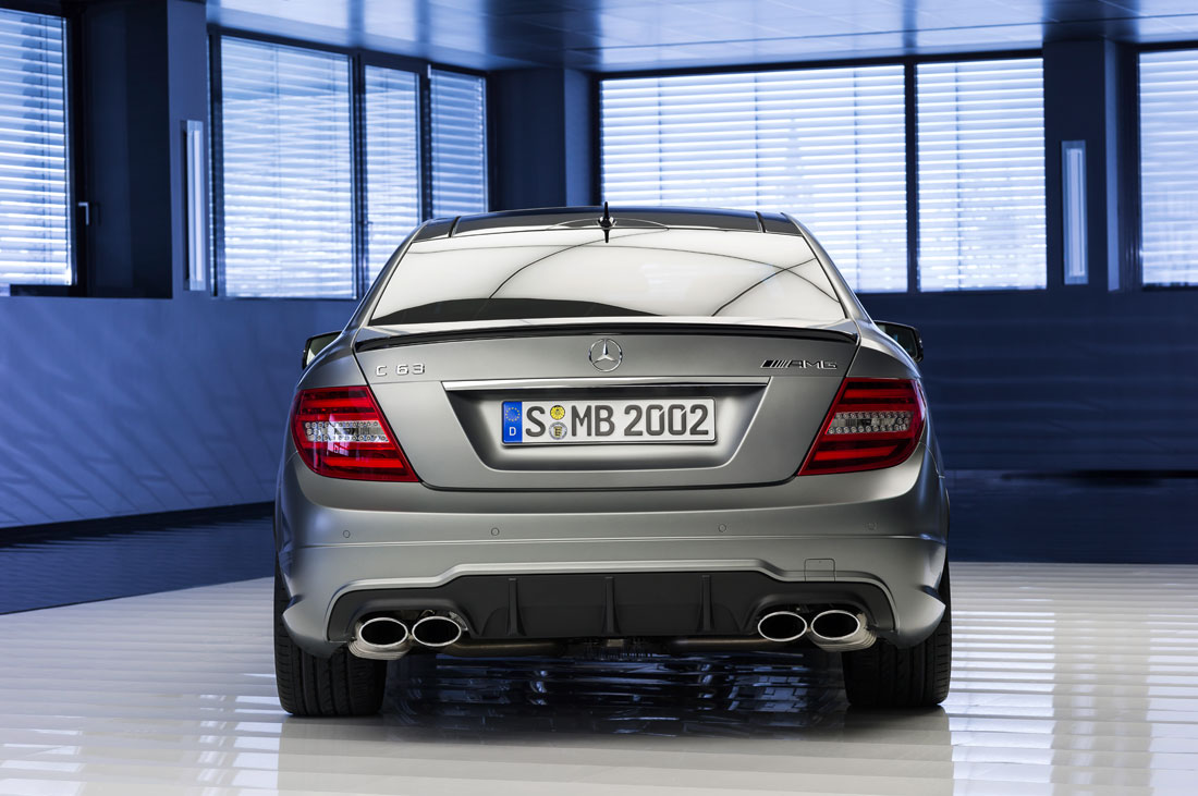 "mercedes benz c63 amg ""edition 507"" coupe : 2013 