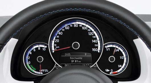 vw e up gauge cluster 14