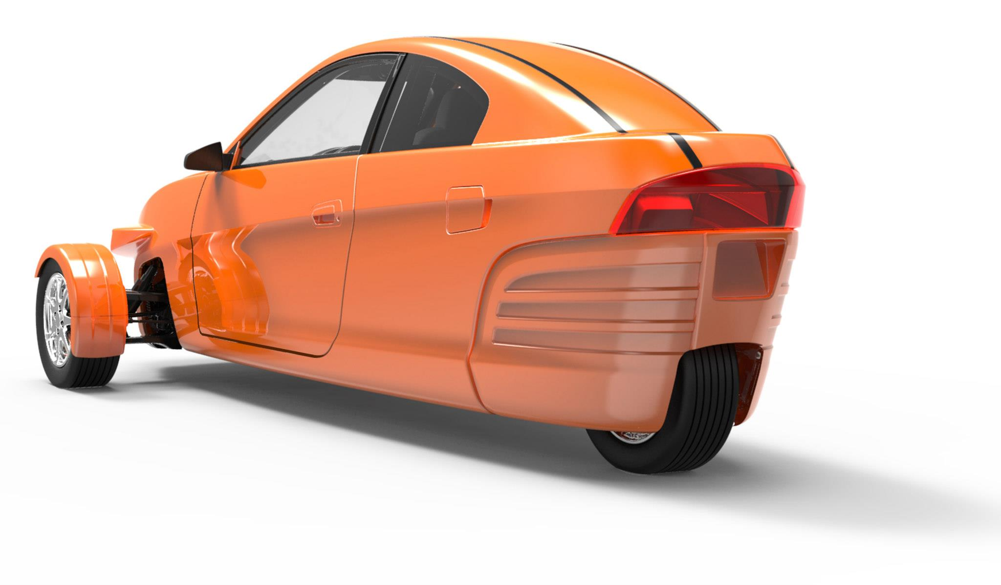 Elio Motors Elio 2014 Cartype