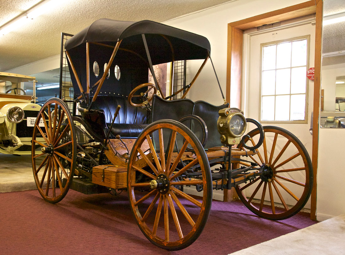 Star 17 Hp Horseless Carriage 1895 Cartype