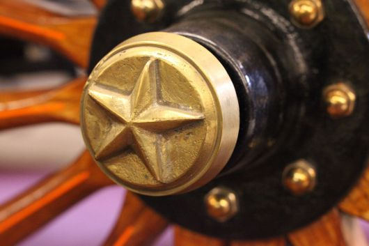 star 17hp wheel hub emblem2 95