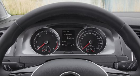 vw golf tdi bluemotion gauge cluster 13