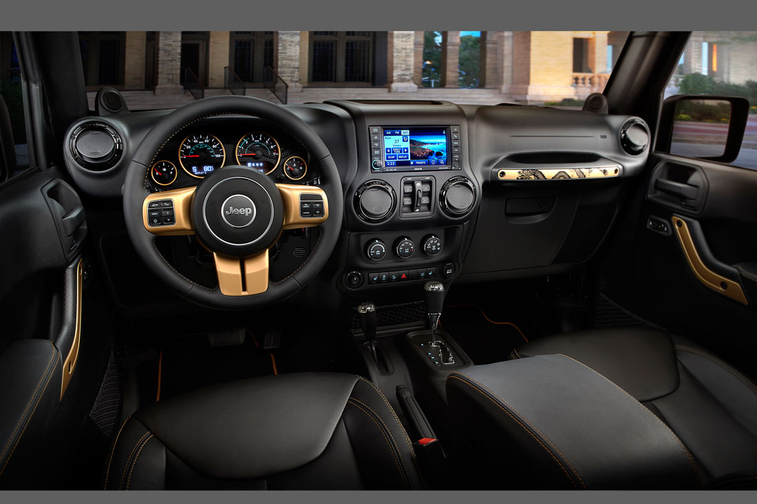 Jeep Official Site >> Jeep Wrangler Dragon Edition : 2014 | Cartype