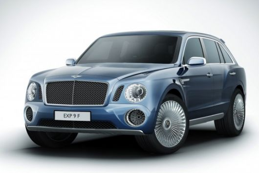 bentley suv 1