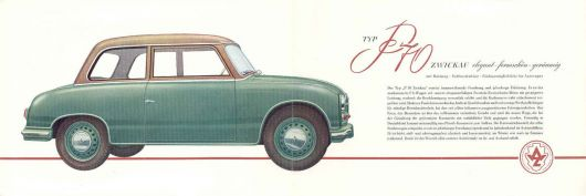 awz zwickau p70 microcar brochure in 56 1