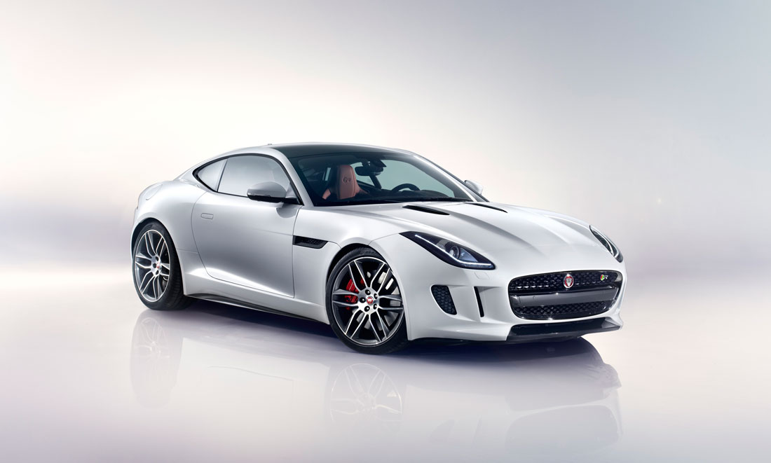 Jaguar F Type R Coupe 2015