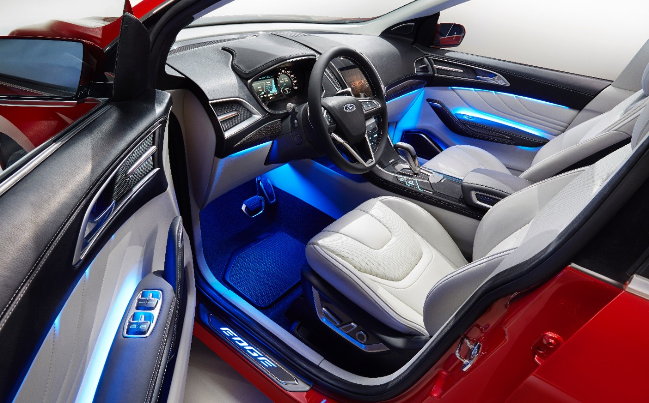 Ford edge concept 2013 cartype for Future interieur