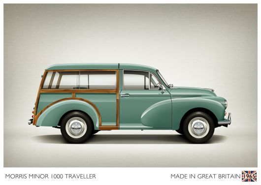 firstcar morris minor traveller