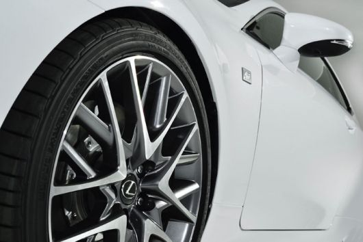 lexus rc 350 f sport wheel 15