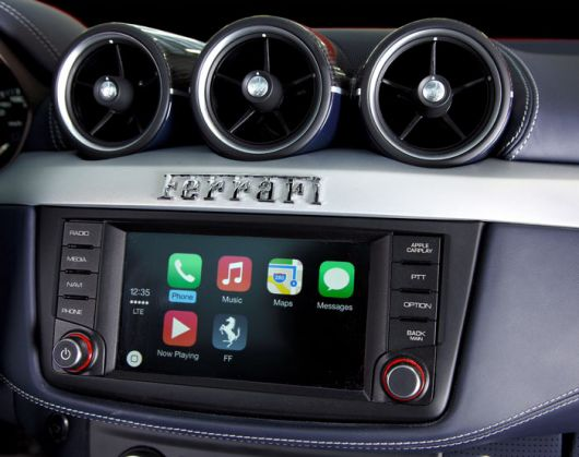 ferrari ff apple carplay 1