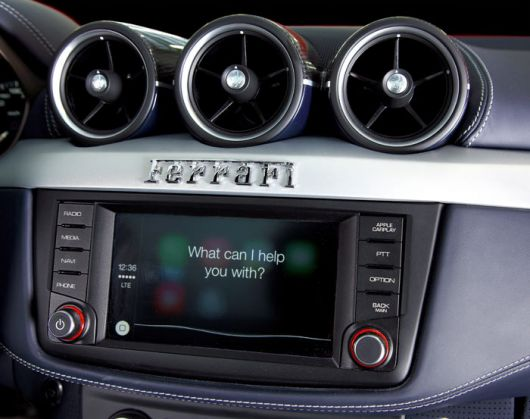 ferrari ff apple carplay 2