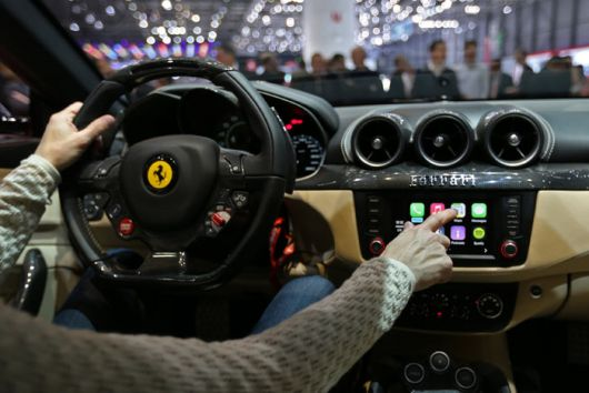 ferrari ff apple carplay 3