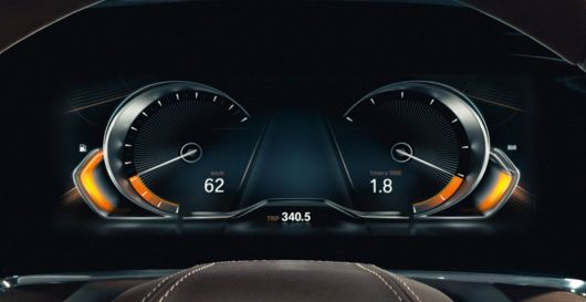 bmw vision future luxury gauge cluster 14
