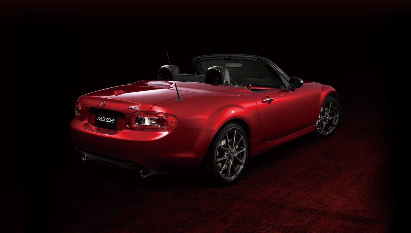 mazda mx 5 miata 25th anniversary edition 2015 cartype. Black Bedroom Furniture Sets. Home Design Ideas