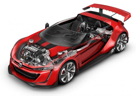 vw gti vision grand tourismo roadster 14 02