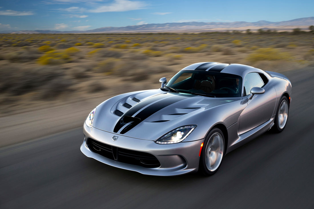 Dodge viper srt coupe 2015