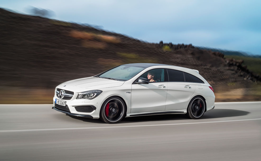 mercedes benz cla 45 amg shooting brake 2015 cartype