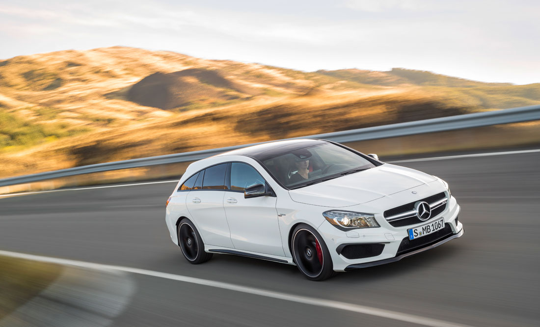 Mercedes benz cla 45 amg shooting brake 2015 cartype for Mercedes benz 2015 cla
