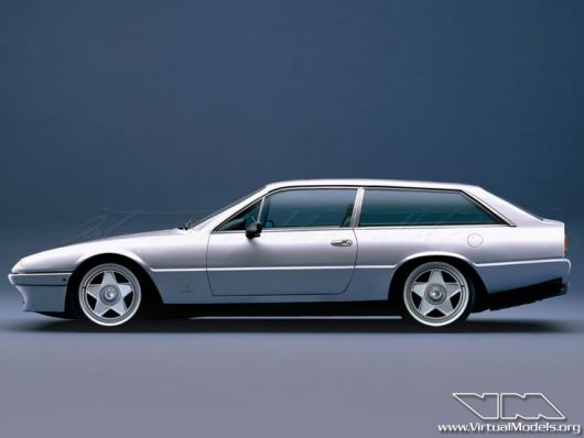 ferrari 412i shooting brake concept