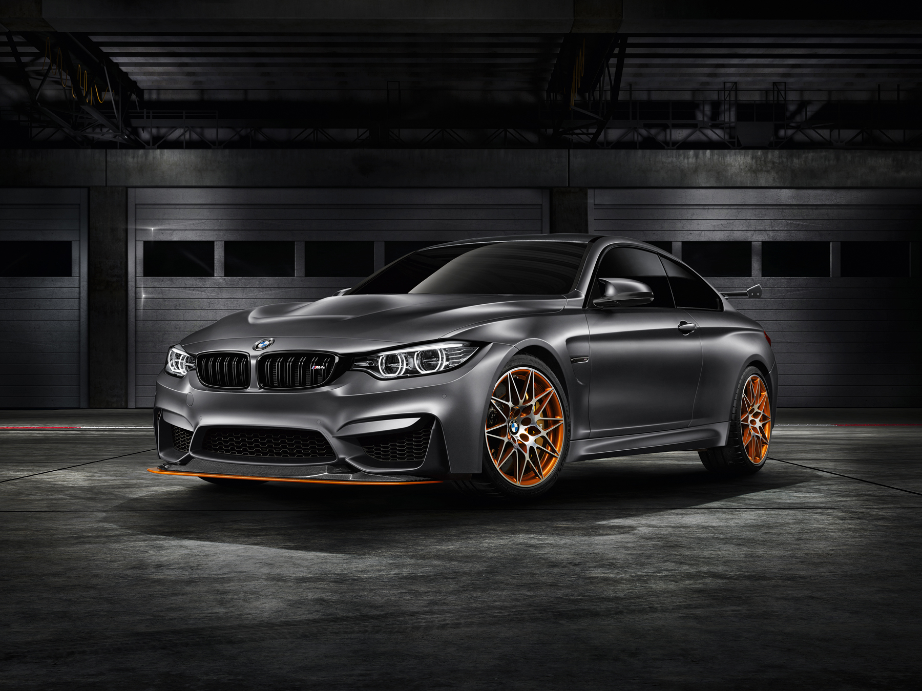 The BMW Concept M4 GTS Debuts At Monterey Car