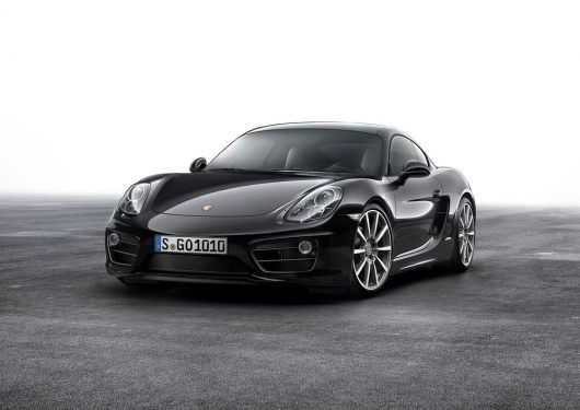 porsche cayman black edition 16