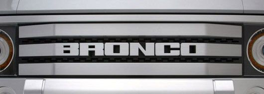 ford bronco grill