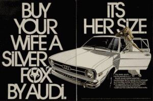 buy your wife a silver fox ad