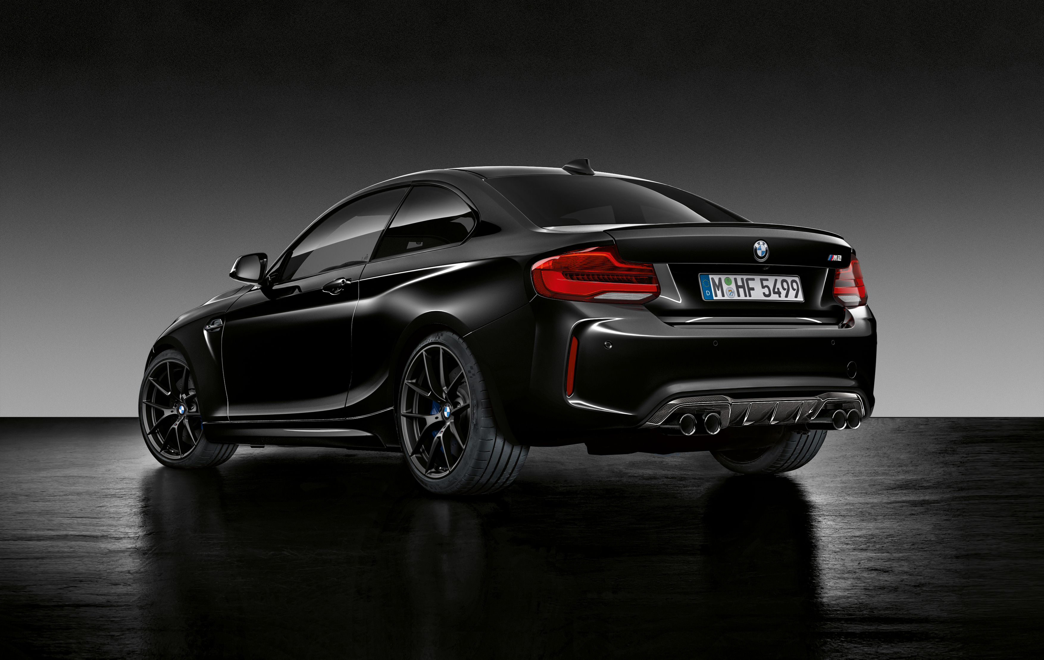 Bmw Official Website >> BMW M2 Coupe Edition Black Shadow : 2018 | Cartype