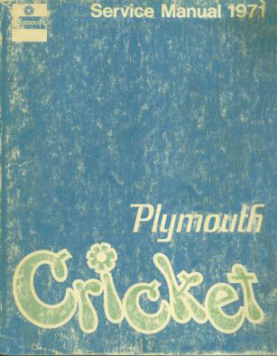 plymouth cricket service manual 71