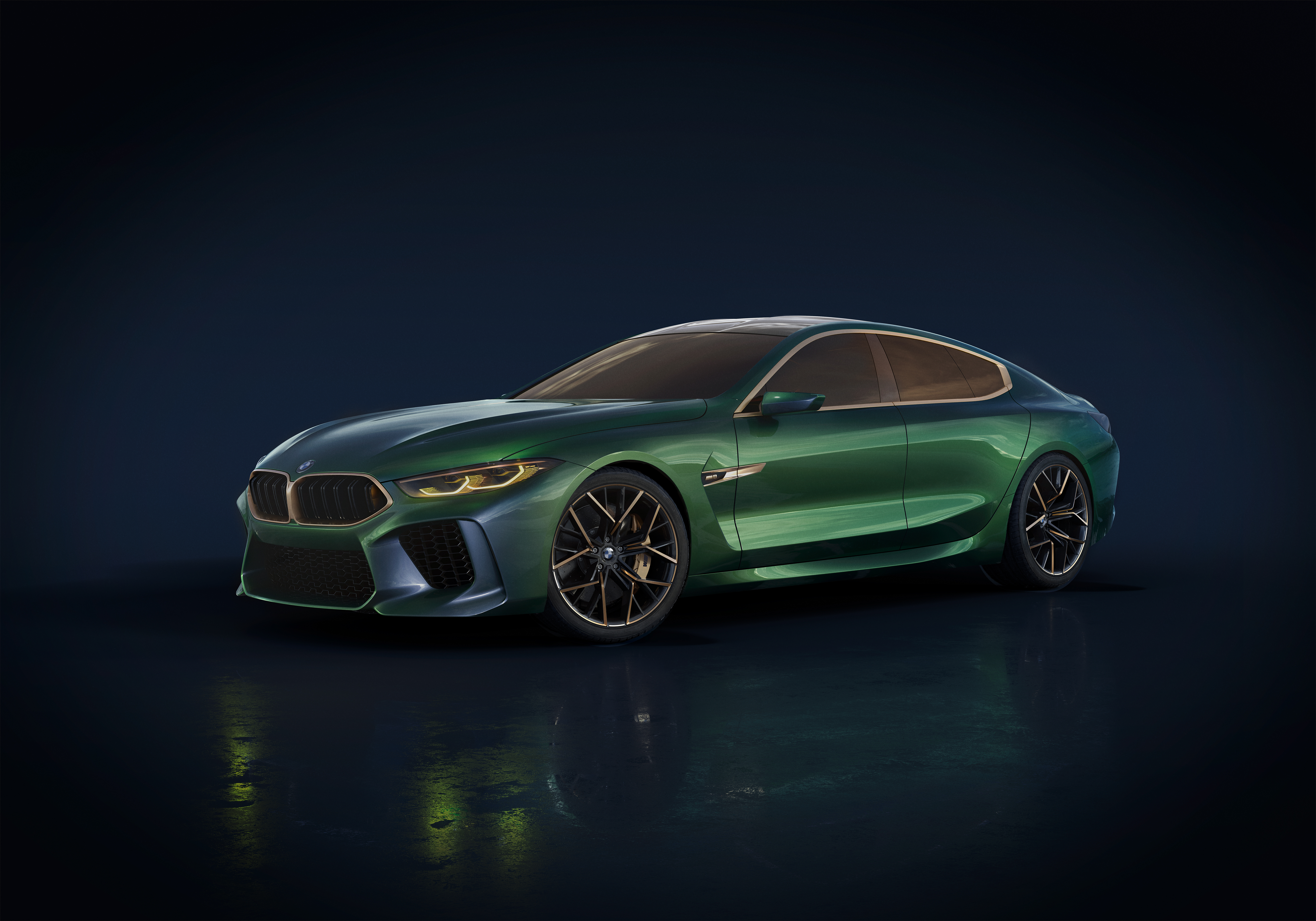 BMW Concept M8 Gran Coupe : 2018   Cartype