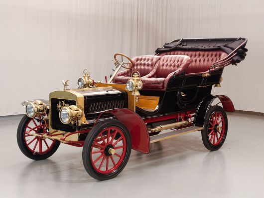 1904 st louis four cylinder side entrance tonneau