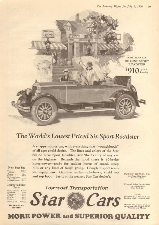star deluxe sport roadster ad 26