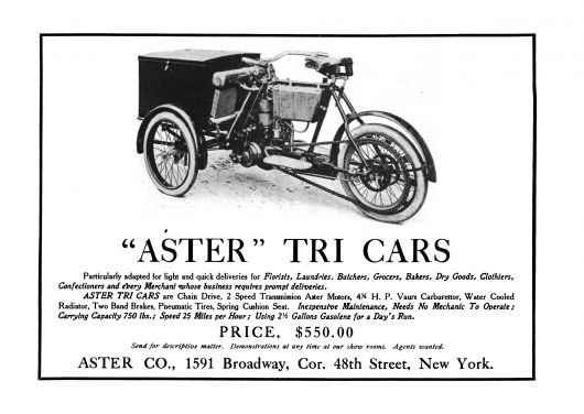 aster tri cars ad 06
