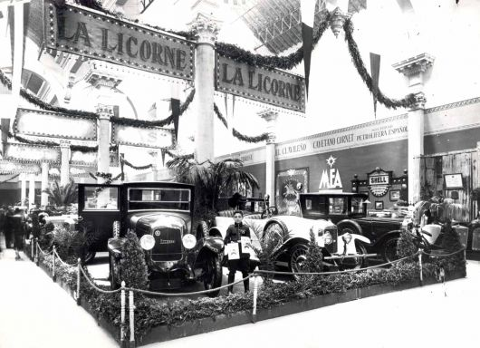 1925 salon automovil barcelona la licorne