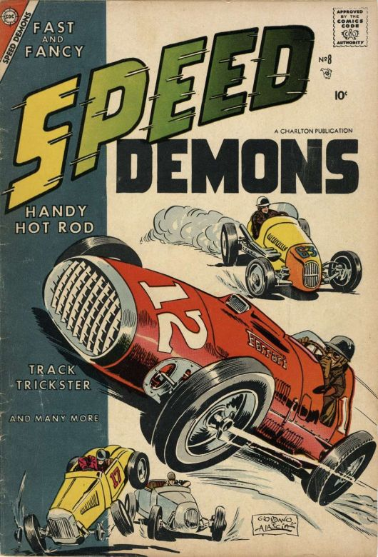 speed demons comic books 3