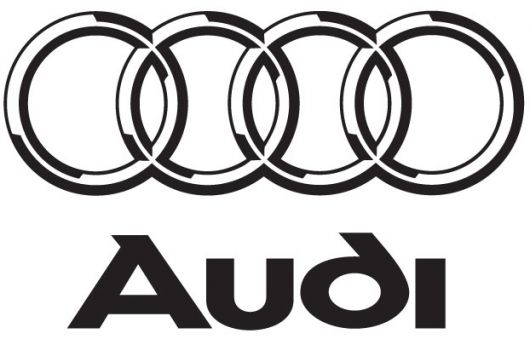 audi logo lined text 2