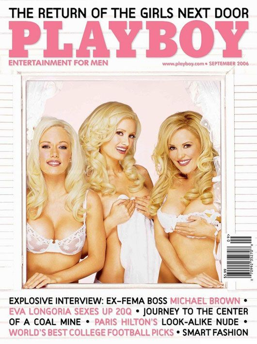 playboy mag front
