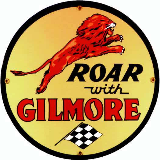 roar with gilmore sign