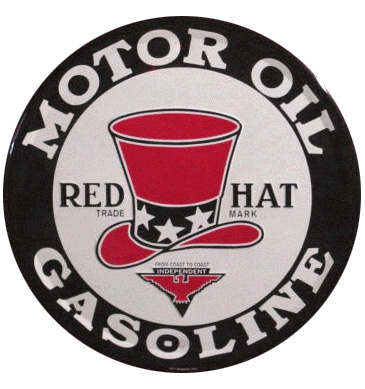 redhat oil sign
