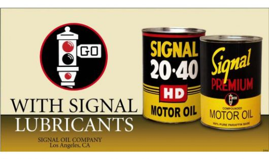 signal oil sign