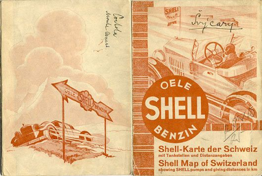 shell swiss map 30