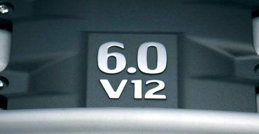 6 0 v12 engine stamp from the  V12 Logo